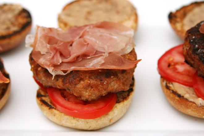 prosciutto lamb burgers 4