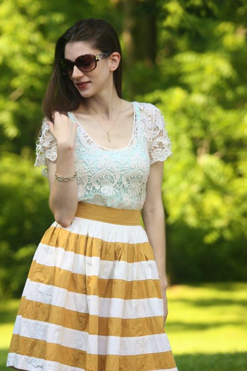 Lace, Stripes & Floral2