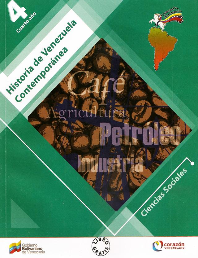Portada libro de Historia de Venezuela