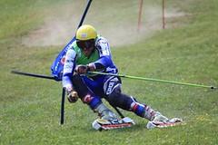 Travní lyžař Němec bojuje před SP v Předklášteří víc s bolestí než se soupeři