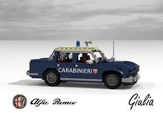 Alfa Romeo Giulia - Type 105 Berlina - Italian Carabinieri