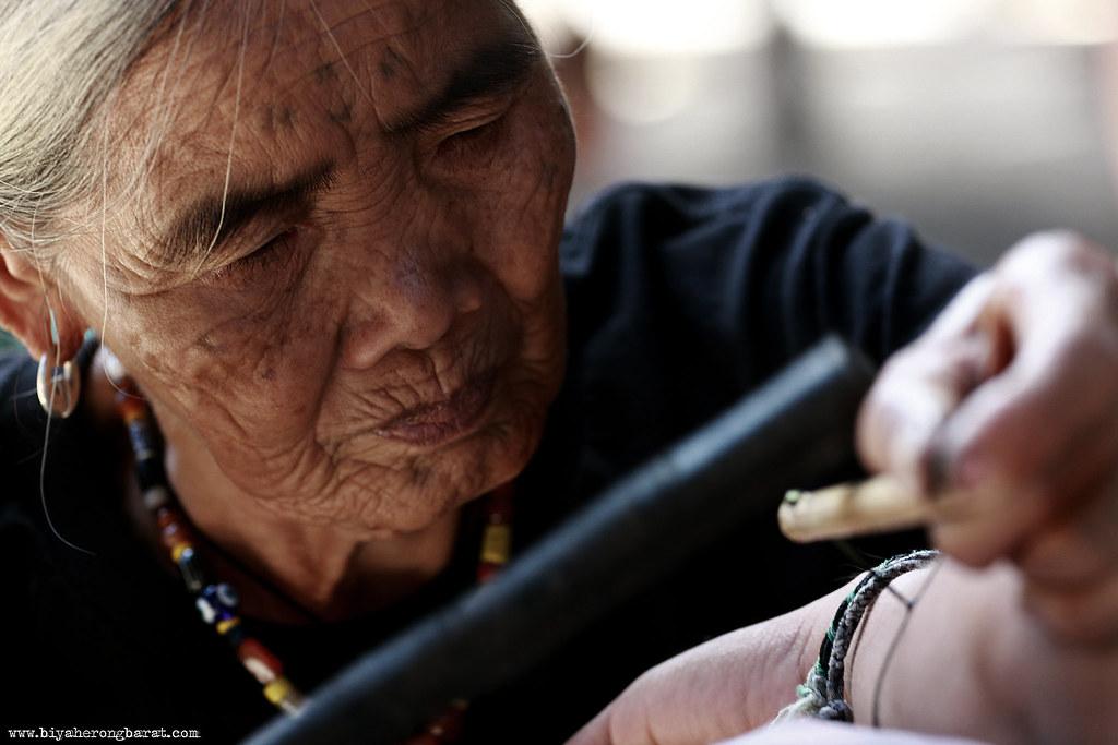 Fang-od kalinga mambabatok buscalan traditional tattoo artist
