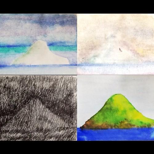 ...e o melhor do Litoral: ilha do Montão de Trigo primavera, inverno, outono, verão. by Dalton de Luca