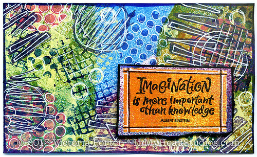 """Imagination Is More Important Than Knowledge"" ICAD : 7-6-13"