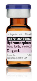 hydromorphone iv 10mg 1ml vial Hospira