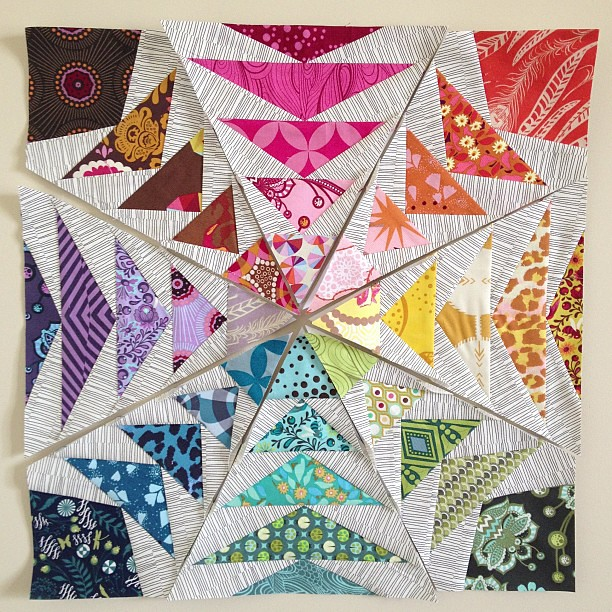 8 of 8 done! #nofilter 70s Geese pattern by @fromblankpages on @becraftsy