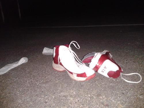 Air Jordans Abandoned (July 1 2013)