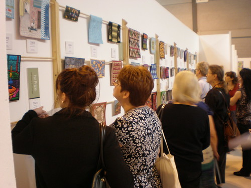 Looking at the Miniature Quilts