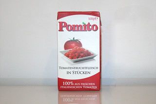 06 - Zutat Tomatenstücke / Ingredient tomato pieces