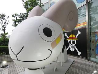 ゴーイングメリー号の船首