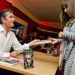 Rupert Everett signs copies of his book |