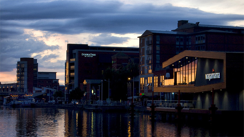 Brayford Sunset