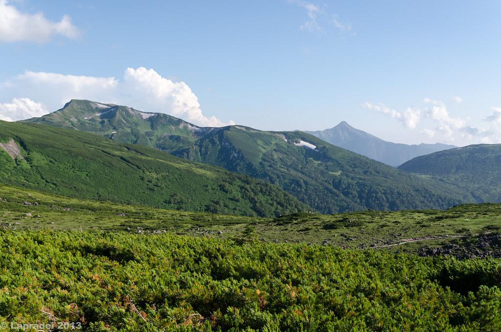 20130811 黒部五郎岳と笠ヶ岳