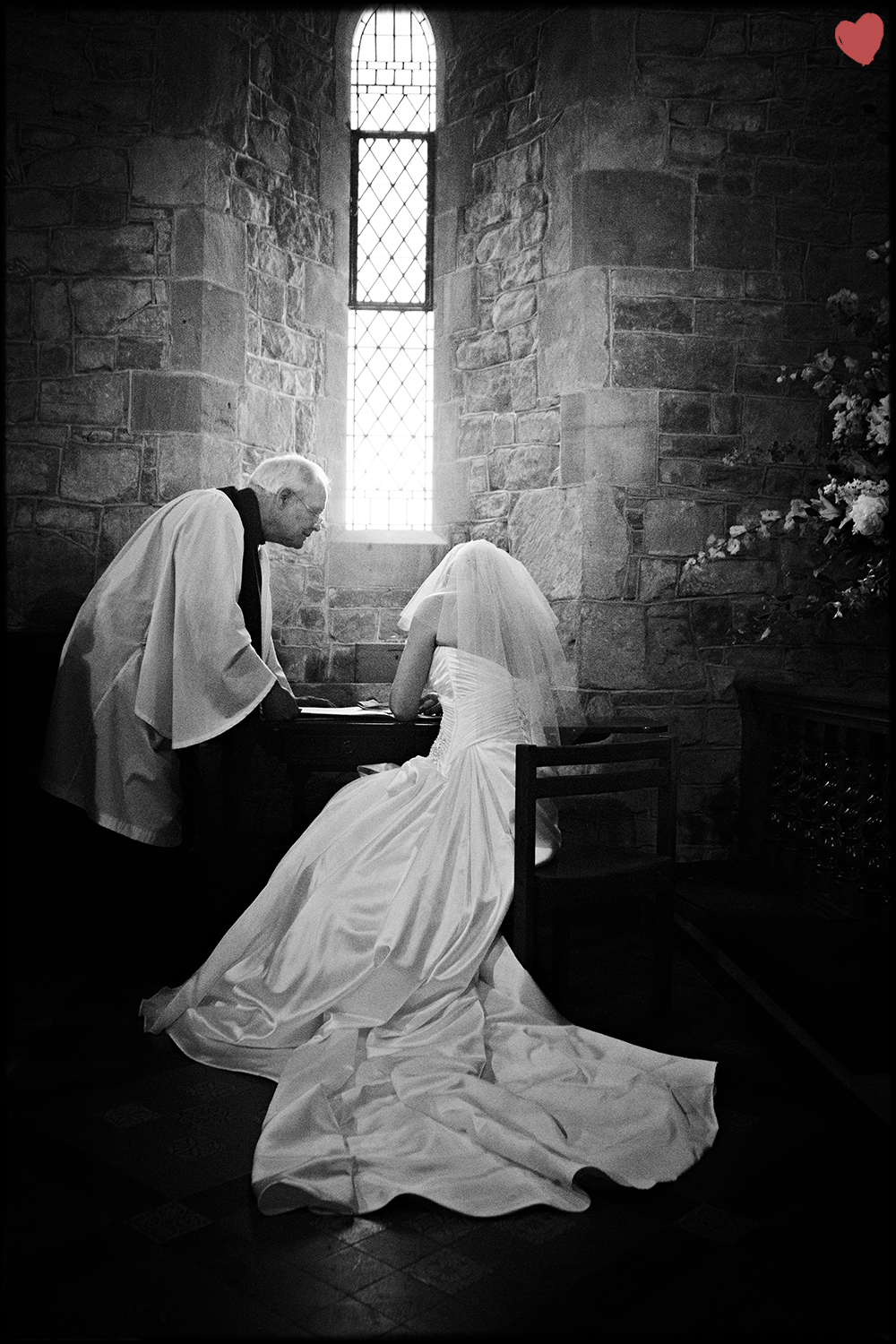 Wedding Photography: Sgning of the Register