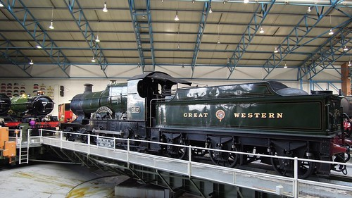 Number 3717 City of Truro, Great Hall, National Railway Museum