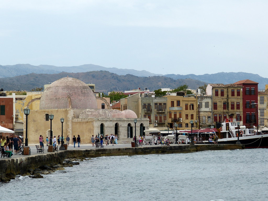 Chania, waterfront