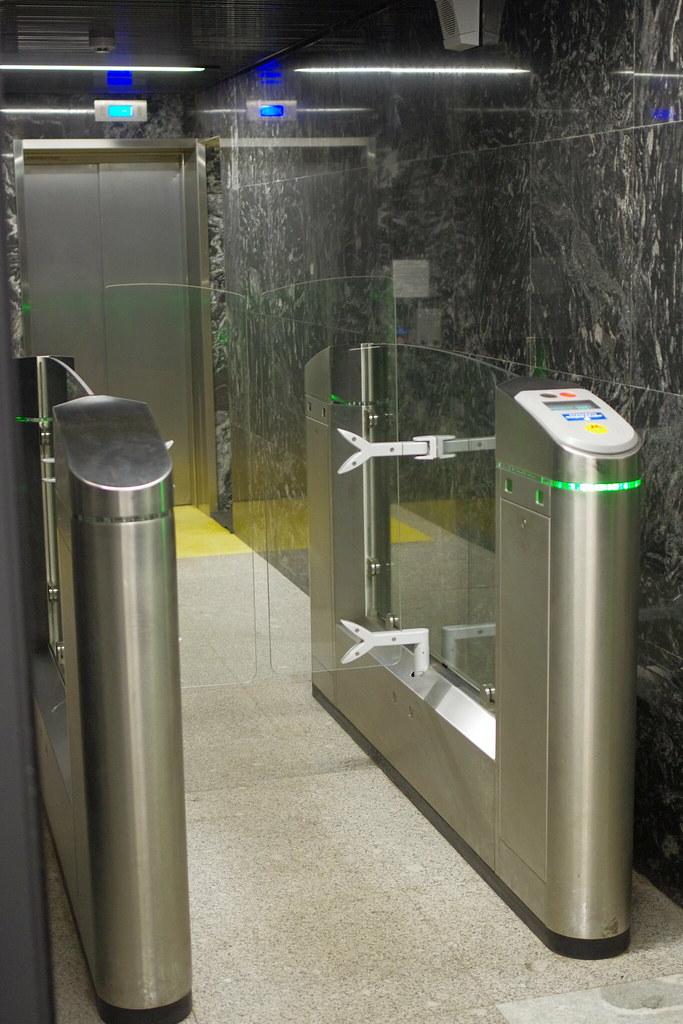Moscow metro Zyablikovo elevators