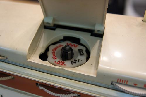 花式針步碟, 可以更換不同的款式