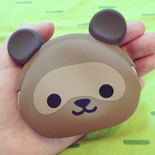 Squee! I'll be reviewing this tanuki purse from #jetpens on Super Cute Kawaii soon!