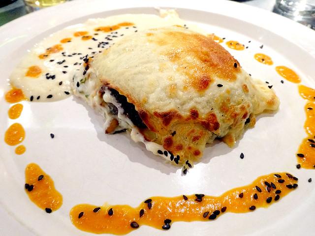 lasagna verduras