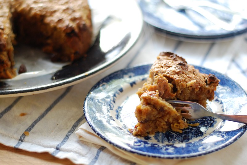 chambray and curls autumn grated apple cake recipe