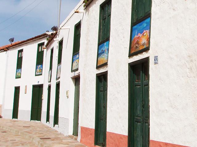 Paintings, Santiago del Teide, Tenerife