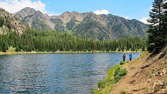Photo:Trout fishing at Potato Lake By Al_HikesAZ