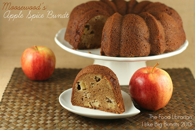 Moosewood Fresh Apple Spice Bundt Cake