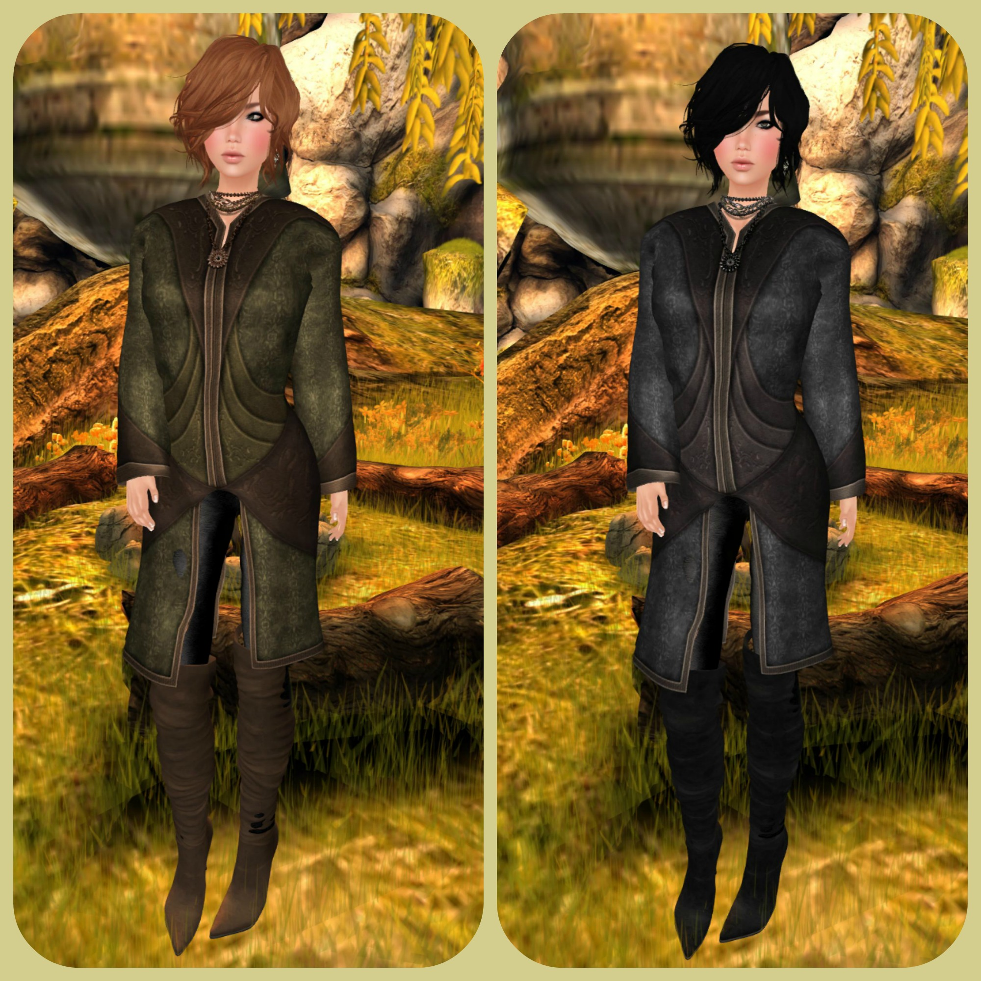 .:SF:. Elessar Womens Tunic Jacket feat DCNY & Feel