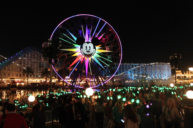 World of Color - Winter Dreams debut at Disneyland