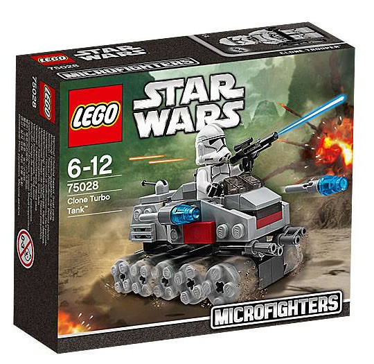 LEGO Star Wars MicroFighters 75028 - Clone Turbo Tank