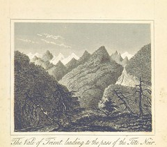 """British Library digitised image from page 59 of """"A Tour to Great St. Bernard's and round Mont Blanc. With descriptions copied from a journal kept by the author; and drawings taken from nature, etc"""""""