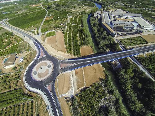 COMSA mejora la seguridad de la carretera que une Villalonga y Ador (Valencia)