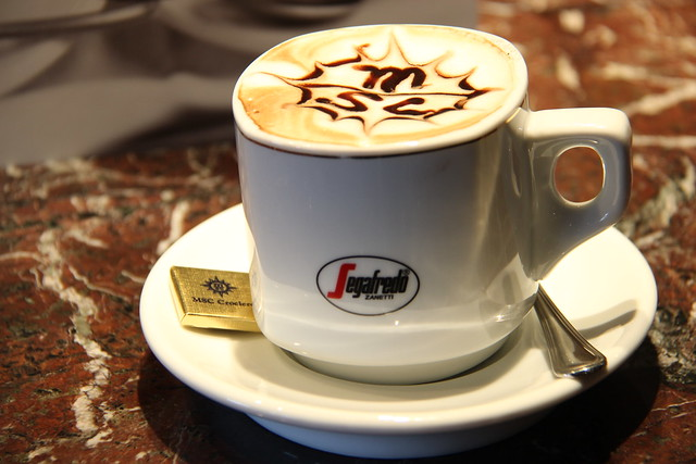 MSC Divina - Segafredo Coffee