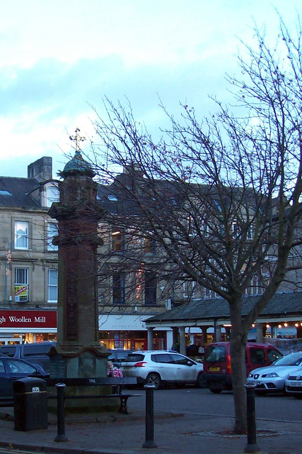 THE TEMPERLEY MEMORIAL FOUNTAIN - HEXHAM