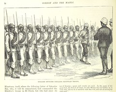 """British Library digitised image from page 42 of """"Gordon and the Mahdi, an illustrated narrative of the war in the Soudan, etc"""""""