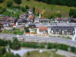 Tilt Shift - Sant'Anna di Valdieri 1