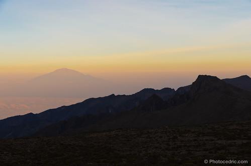 africa sunset mountain kilimanjaro trekking trek tanzania tanzanie kilimandjaro lemosho