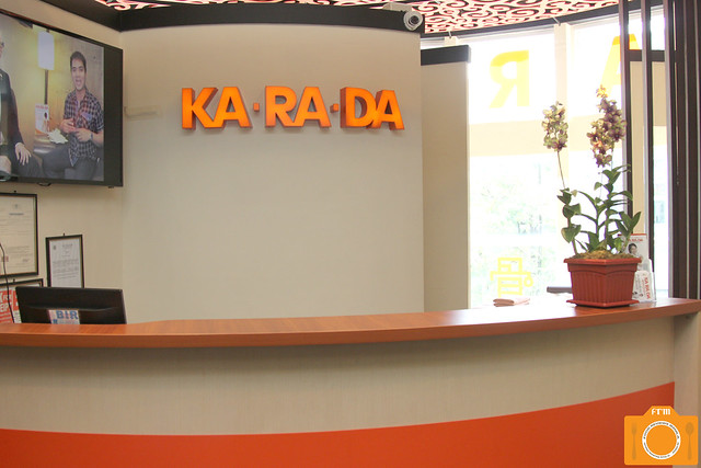 Karada reception desk
