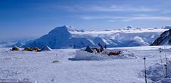 14000 feet camp (oboz na wysokości 4600m)