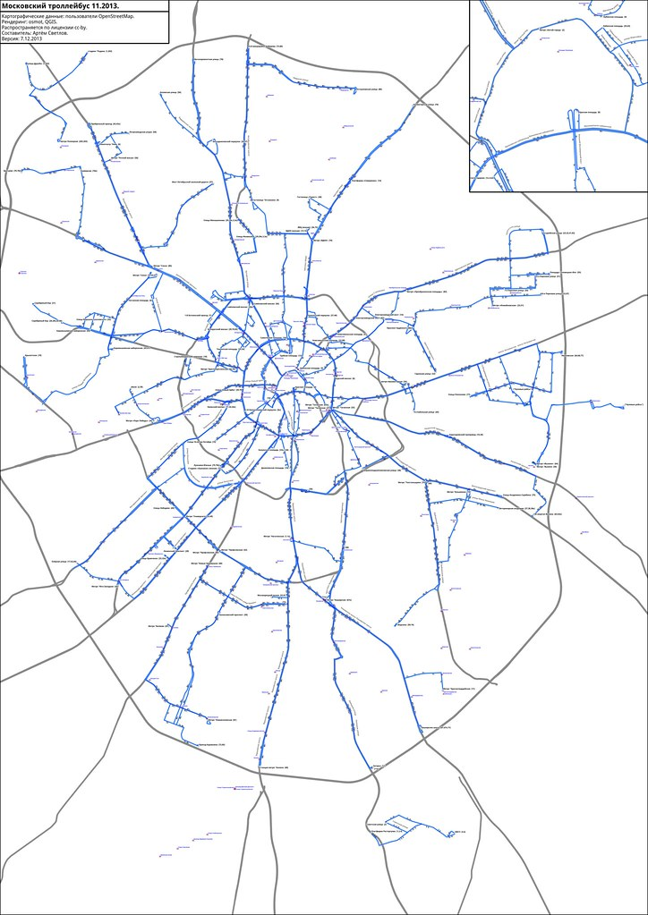 moscow trolleybus map