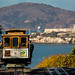 Alcatraz and Cable Car by King Grecko