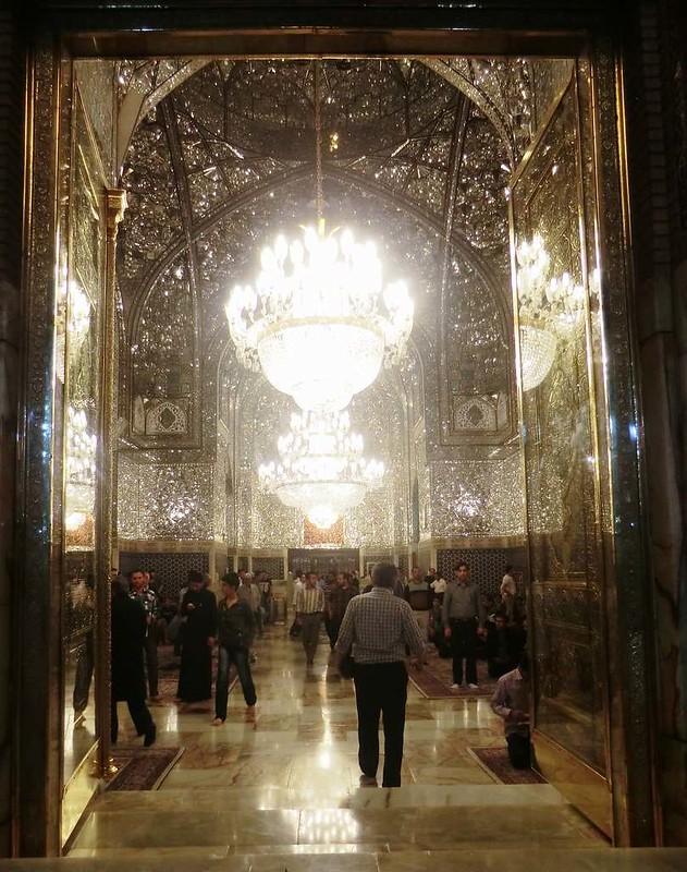 165 Interior de la mezquita de Iman Reza en Masshad. Foto de Majid Kharinkani (25)