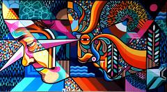 Mural by Beastman.Spotlight Sydenham.