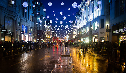 London Christmas 2013 - Oxford Street