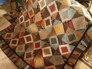 My mother made me a quilt!