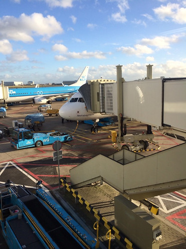 Flying from Amsterdam to Limassol