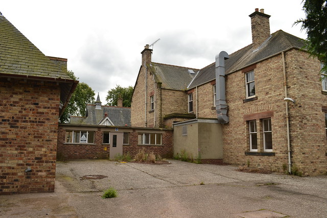 Loanhead Hospital soon after closure