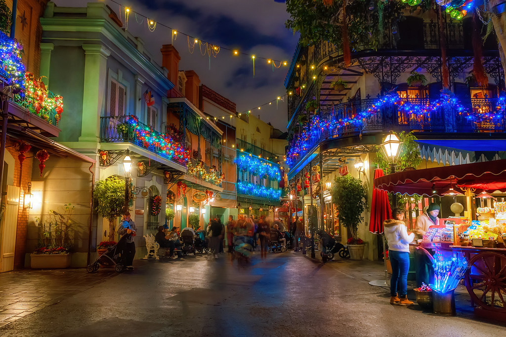 Glowing New Orleans Square