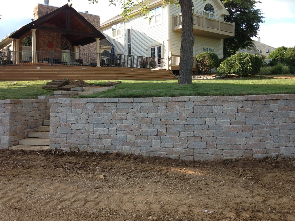 Retaining Walls Creve Coeur Paving Asphalt Paving
